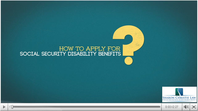 Detailed information on the three different methods that you can use to apply for disability benefits.