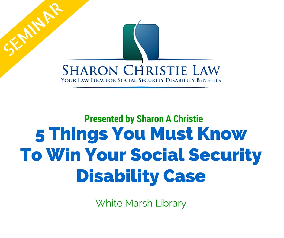 list social security disability resources