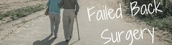 failed back surgery