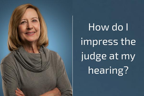 How do I Impress the Judge