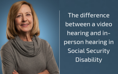 Difference between a Video Hearing and In-Person Hearing in Social Security Disability