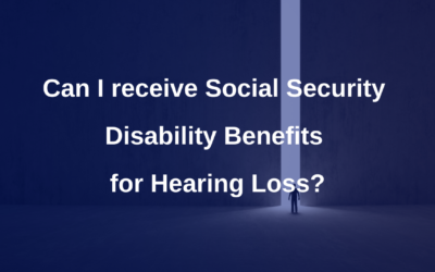Disability Benefits for Hearing Loss
