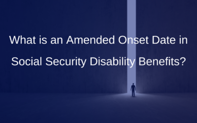 What is an Amended Onset Date in Social Security Disability Benefits?
