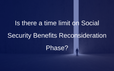 Is there a time limit on Social Security Benefits Reconsideration Phase?